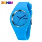 Новые Моды Марка Женщины Красочные Желе Часы Мужчины Силиконовой Лентой Кварцевые Часы 30 М Водонепроницаемый Спортивные Часы Наручные Часы