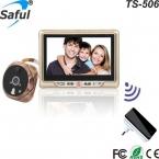 """новые Мульти-языки HD 4.3 """"TFT-LCD записи цифрового видео глазок дверь просмотра с dingdong дверной звонок"""