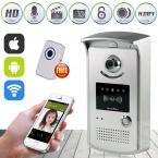Новые HD 720 P Wi-Fi Дверь Камеры Беспроводные Видео-Домофон Телефон Управления IOS IP Домофон Беспроводной Дверной звонок Android