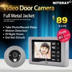 Записываемый Видео Глазок Двери Camera Viewer поддержка Motion Обнаружения   Дверной Звонок Функция