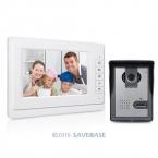 """Видео-Телефон Двери Системы Безопасности Дома Handsfree Интерком 7 """"Белый Монитор Камеры"""