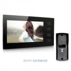 """HOMSECUR 7 """"Цветной Видео-Телефон Двери Интерком CMOS 700TVL Водонепроницаемая Камера ИК-Датчик 1V1"""