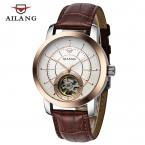 Relojes Hombre AILANG Автоматические Механические Часы Мужчины Tourbillon Водонепроницаемый 50 М Кожаный ремешок Бизнес Часы Мужчины Мода Часы