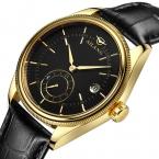 Мужские Автоматические механические часы мужчины Спорт Погружение Моды Случайные Наручные Часы Кожаный ремешок Лучший Бренд Класса Люкс AILANG Часы Reloj