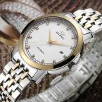 AILANG топ люксовый бренд бизнес часы Полная сталь Водонепроницаемый Механические Часы мужчины Мода Повседневная наручные часы Relojes Hombre