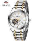 AILANG топ люксовый бренд бизнес часы Полная сталь Водонепроницаемый Механические Часы Мода Повседневная наручные часы relojes hombre