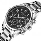 Reloj Hombre AILANG Бренд Моды Случайные Бизнес Часы Мужчины Дата Водонепроницаемый полный стали Кварцевые Мужские Часы relogio masculino
