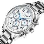 Часы Мужчины Люксовый Бренд AILANG Полный стали Кварцевые Часы Водонепроницаемые 30 М Дата Часы Деловой случай Наручные часы Relojes Hombre