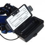 Налобный фонарь 1600 Lumen CREE XML-T6 LED  (3 режима, 2 x 18650)