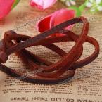 Стильная подвеска в ковбойском стиле из натуральной кожи и кулон в виде фотоаппарата.