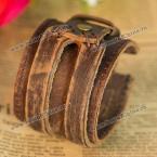Стильный кожаный браслет на руку