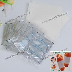 Очищающий детокс пластырь для стоп (10шт в комплекте)