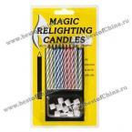 Волшебные свечи.(В упаковке 10 штук)