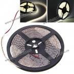 Водонепроницаемая светодиодная светящаяся лента с теплым белым светом (5м, 600 x 3528 SMD LED, DC12V)