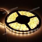 Водонепроницаемая светящаяся лента: 5м, теплый белый свет, 300 x 3528 SMD светодиодов, DC12V
